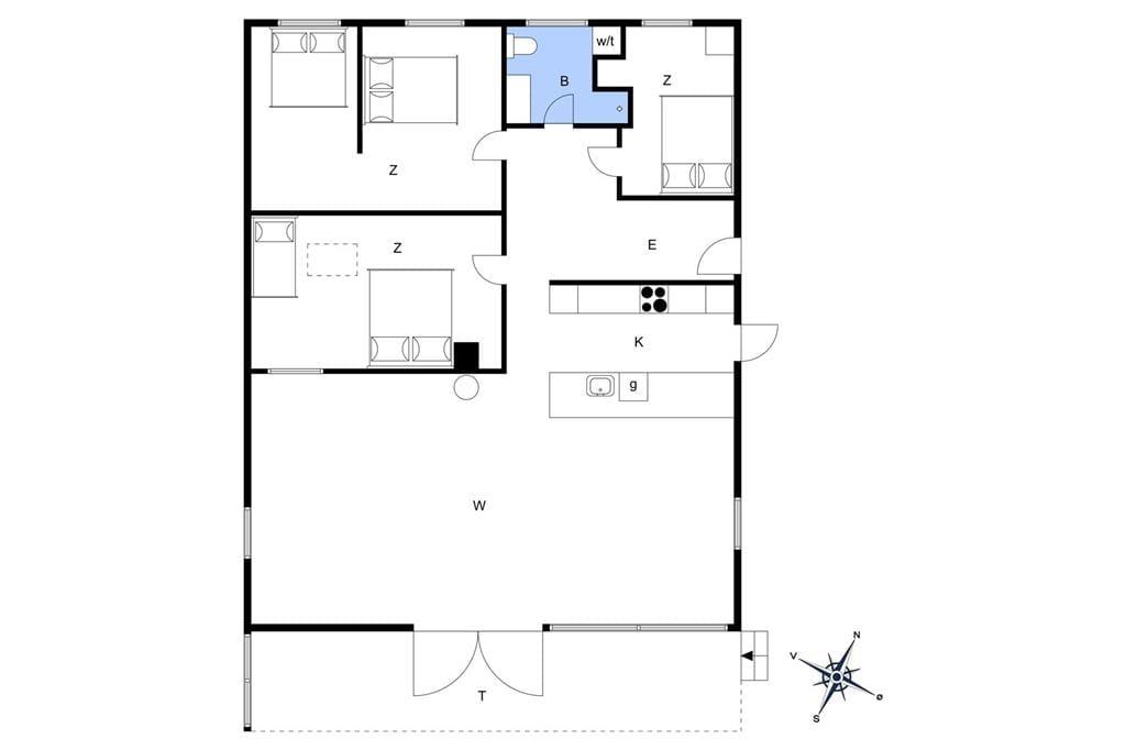 Innenausstattung 1-19 Ferienhaus 30050, Mågevænget 7, DK - 8330 Beder