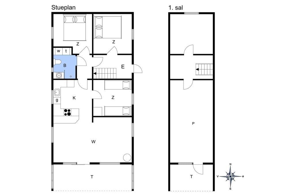 Innenausstattung 1-11 Ferienhaus 0132, Kap Farvel 12, DK - 6792 Rømø