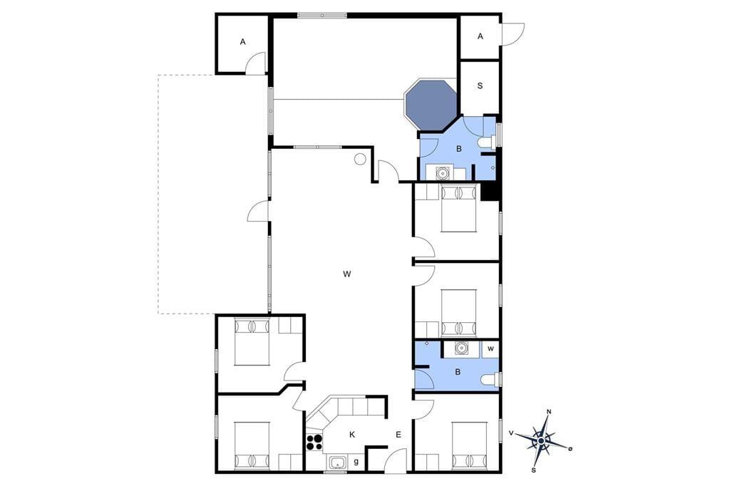 Interieur 1-3 Vakantiehuis F50360, Vandstedet 14, DK - 6430 Nordborg