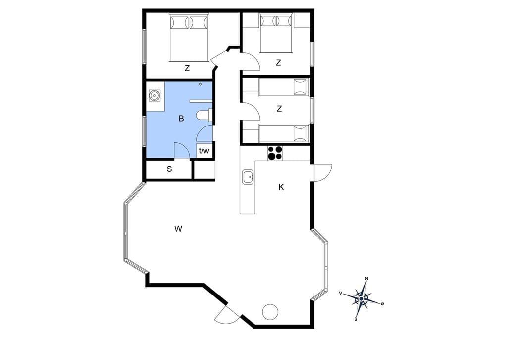 Interior 1-10 Holiday-home 6775, Stakkebakken 1, DK - 3770 Allinge