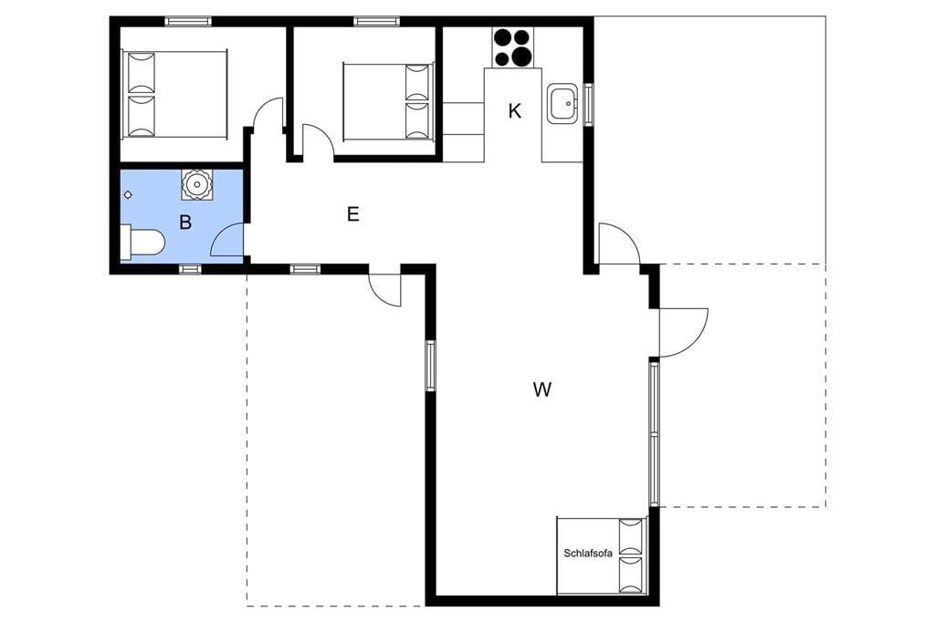 Innenausstattung 1-3 Ferienhaus L162601, Tuborgvej 19, DK - 9670 Løgstør