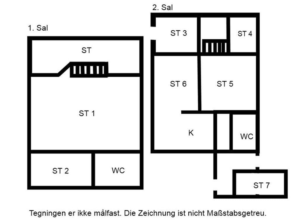 Indretning 1-15 Sommerhus 4307, Busenevej 38, DK - 4791 Borre
