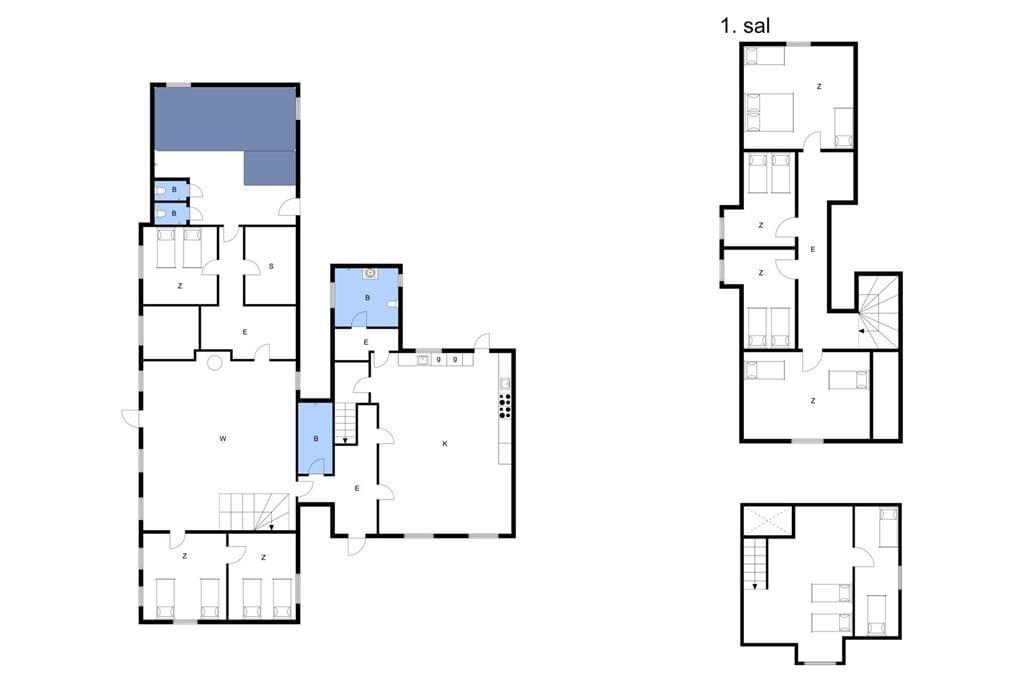 Innenausstattung 1-3 Ferienhaus M673661, Snøde Udflyttervej 8, DK - 5953 Tranekær