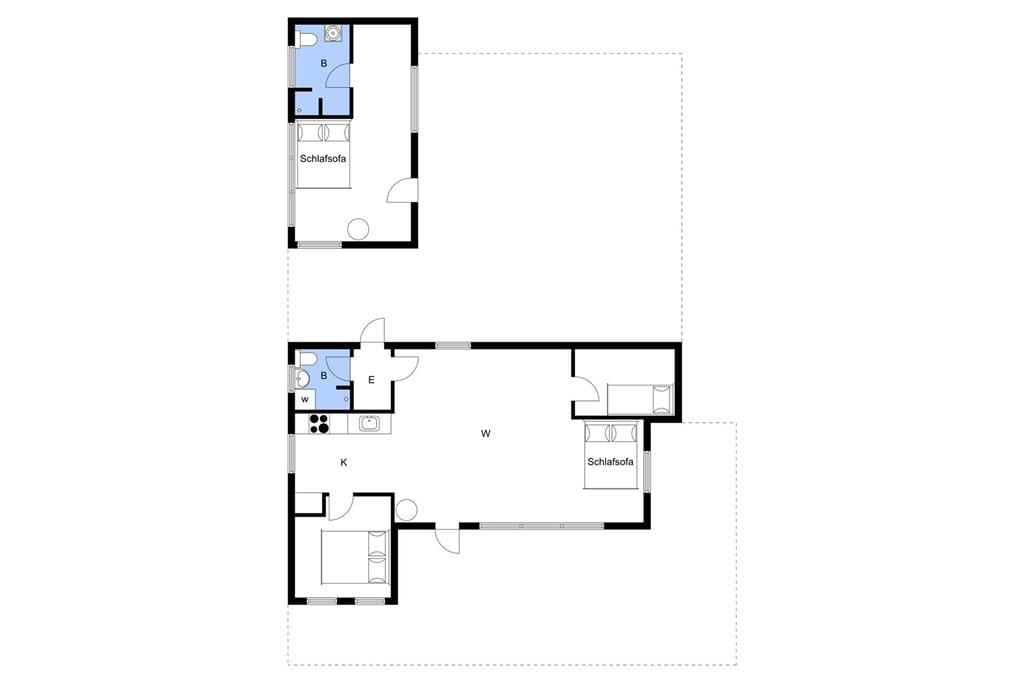 Interieur 1-3 Vakantiehuis M65438, Klintholmvej 4, DK - 5642 Millinge