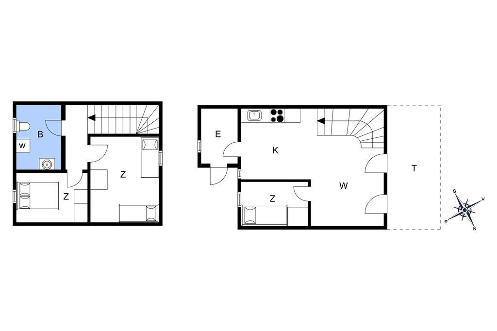 Indretning 1-11 Sommerhus 0367, Vestergade 159, DK - 6792 Rømø