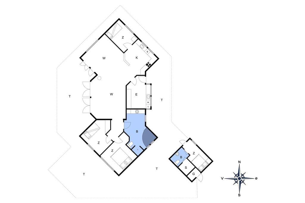 Indretning 1-13 Sommerhus 691, Ingersvej 31, DK - 7770 Vestervig