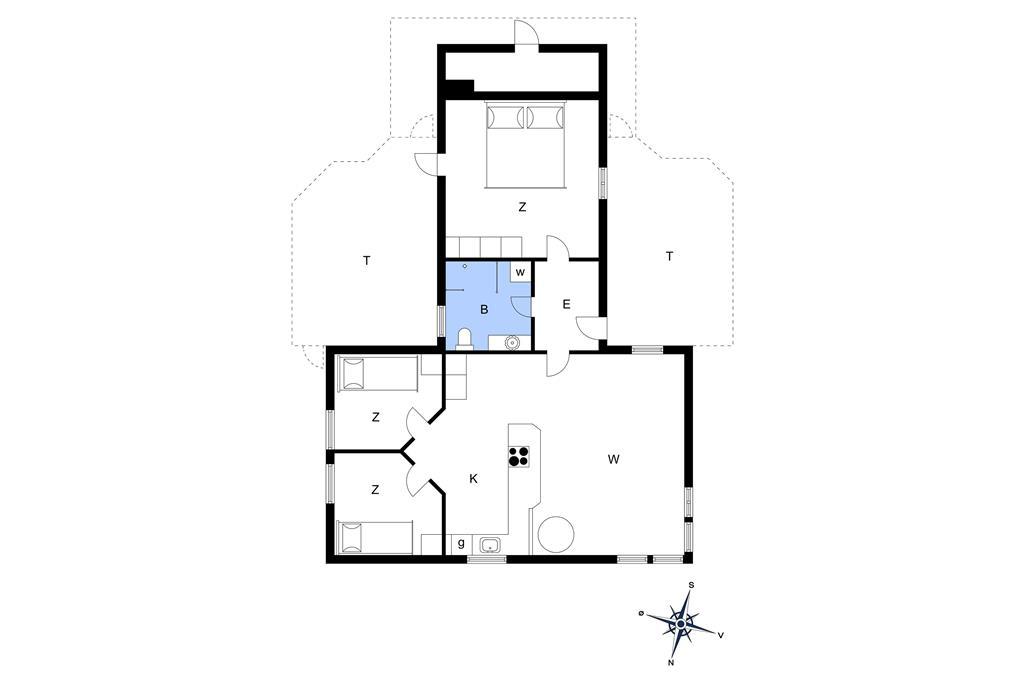 Interieur 1-14 Vakantiehuis 1304, Revlingrenden 14, DK - 9800 Hjørring