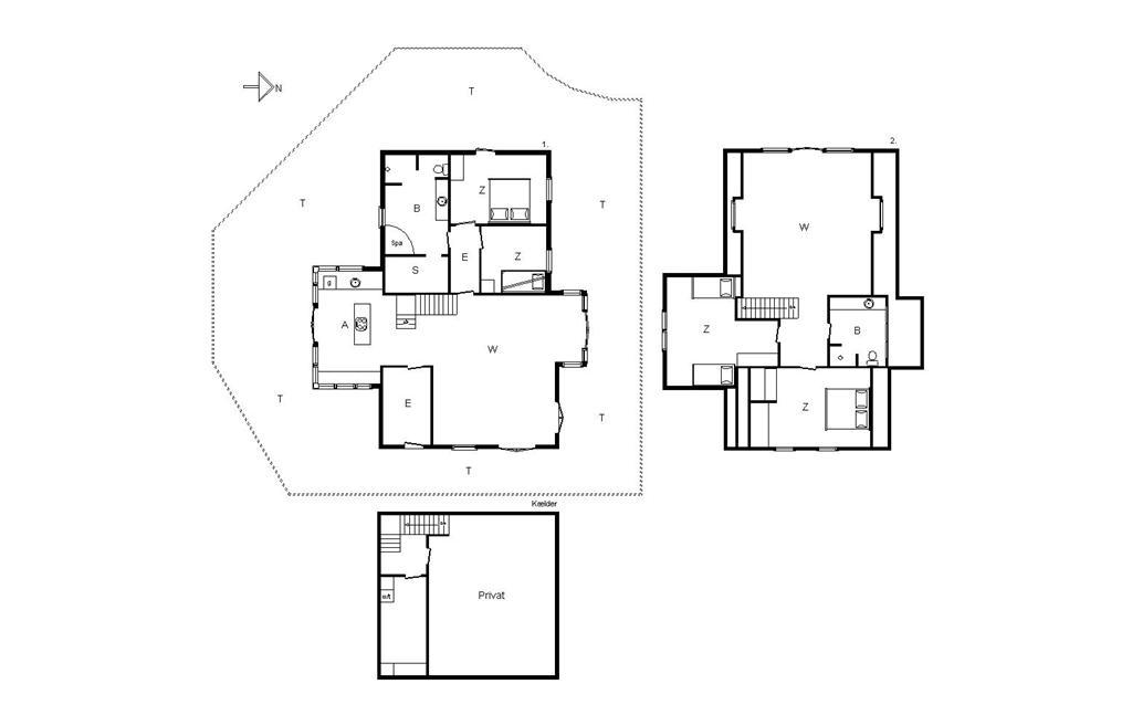Interieur 1-14 Vakantiehuis 854, Porsevej 6, DK - 9493 Saltum