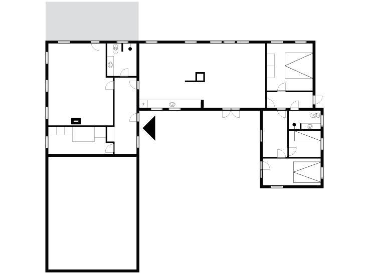 Indretning 1-175 Sommerhus 20221, Vedersø Klitvej 12, DK - 6990 Ulfborg