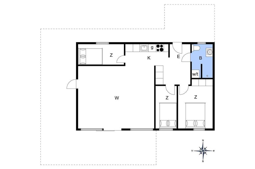 Interieur 1-148 Vakantiehuis TV1397, Margueritevej 7, DK - 9881 Bindslev