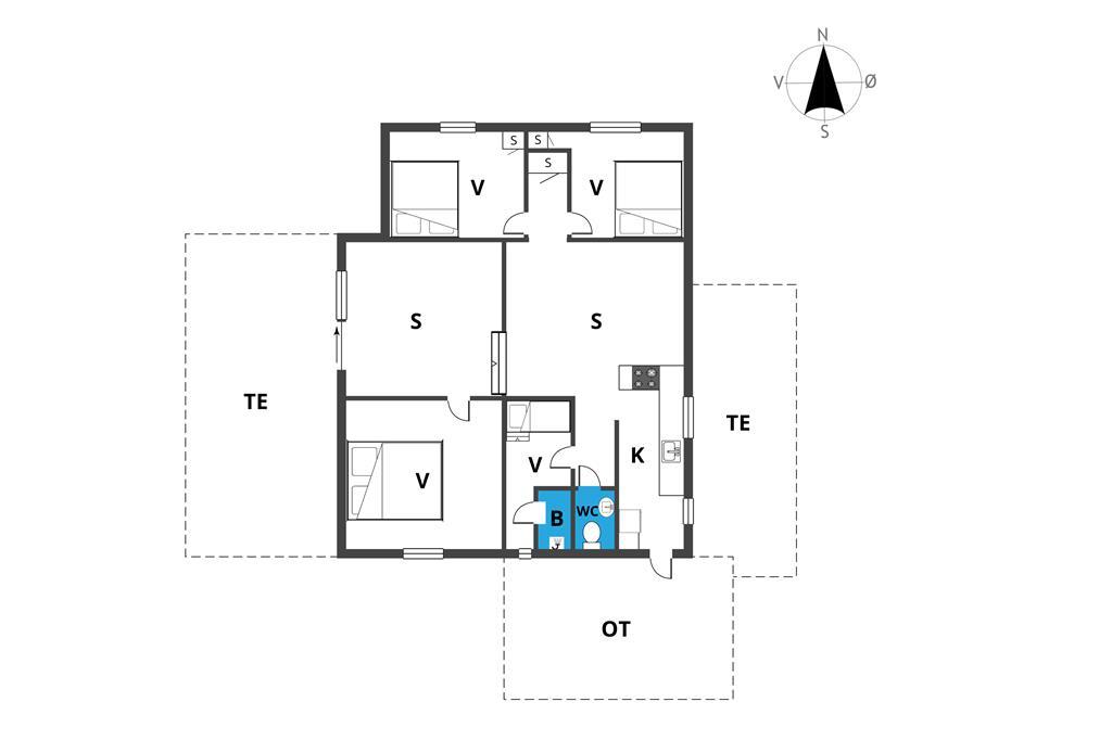 Innenausstattung 1-19 Ferienhaus 30008, Gyvelvænget 5, DK - 8340 Malling