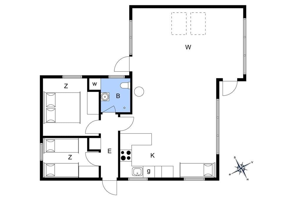 Interior 1-125 Holiday-home 2101, Hjelmevej 7, DK - 6854 Henne