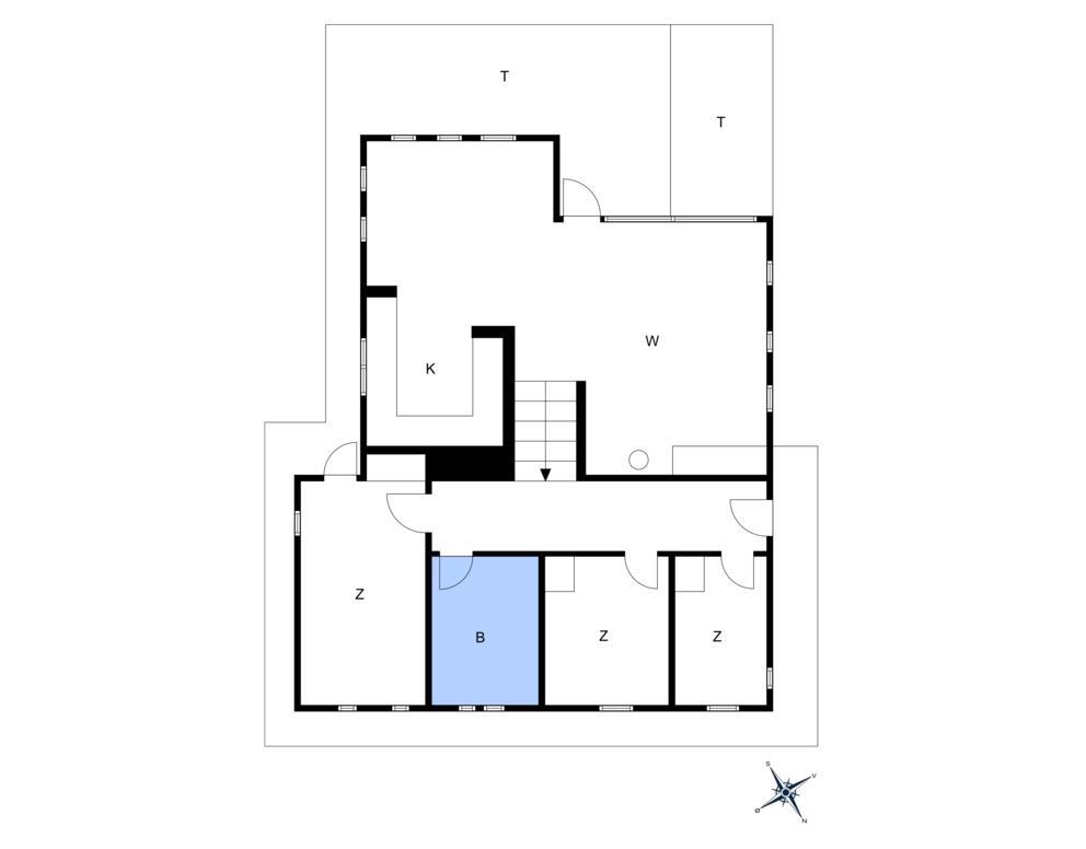 Indretning 1-10 Sommerhus 1429, Søhøjbakken 24, DK - 3720 Aakirkeby