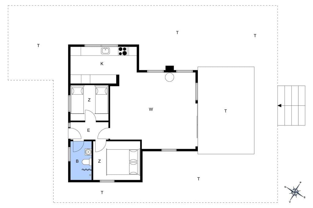 Interieur 1-23 Vakantiehuis 8110, Blombjergvej 16, DK - 8410 Rønde