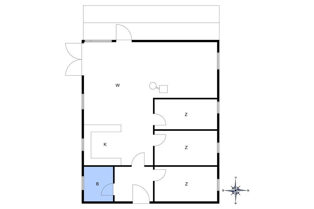 Innenausstattung 1-10 Ferienhaus 6718, Bagå 8, DK - 3790 Hasle