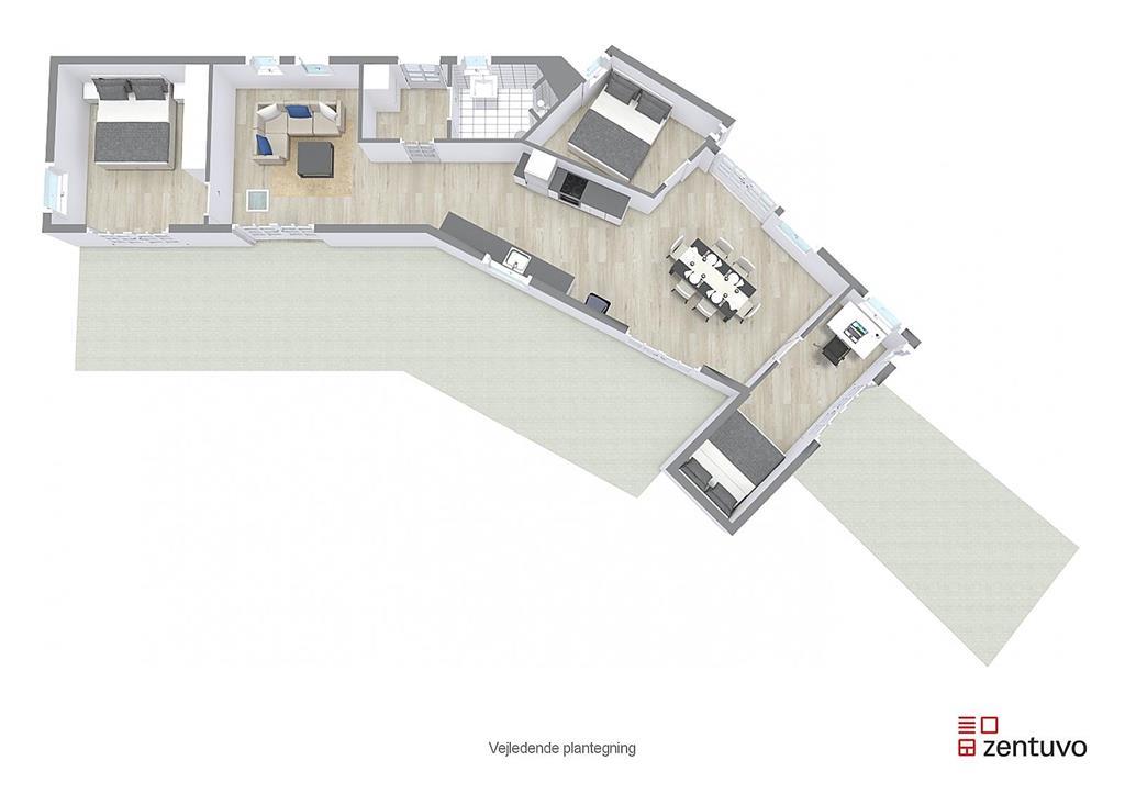 Innenausstattung 1-17 Ferienhaus 10090, Sandlodsvej 27, DK - 4581 Rørvig