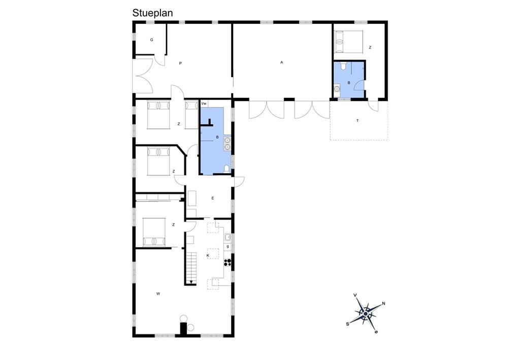Indretning 1-13 Sommerhus 1004, Skjærbakken 37, DK - 7700 Thisted