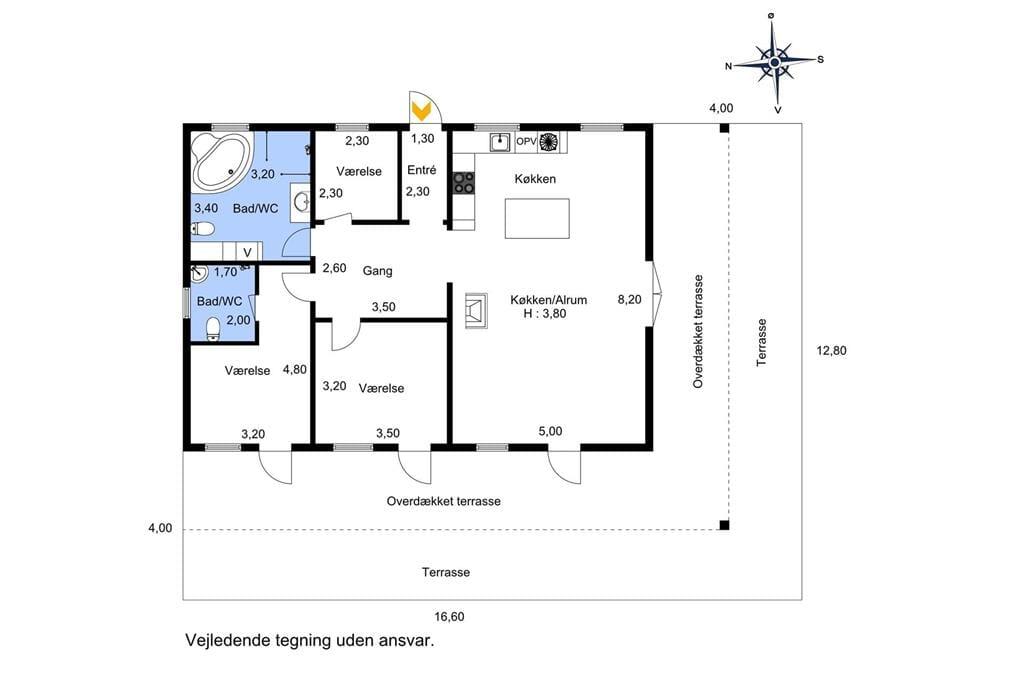 Interior 1-174 Holiday-home M17027, Sølvpilevej 10, DK - 4873 Væggerløse