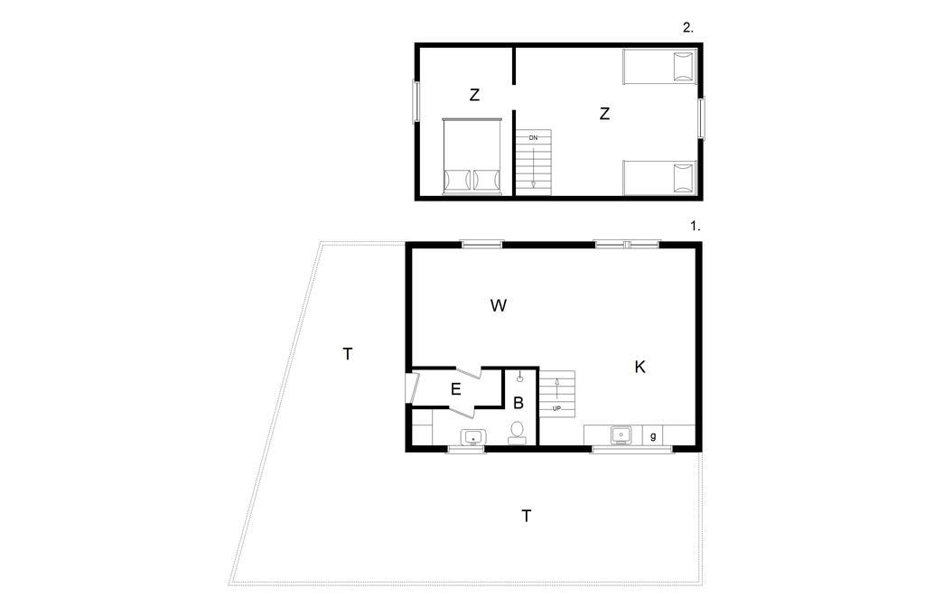 Interieur 1-14 Vakantiehuis 1046, Ndr. Strandvej 1, DK - 9480 Løkken