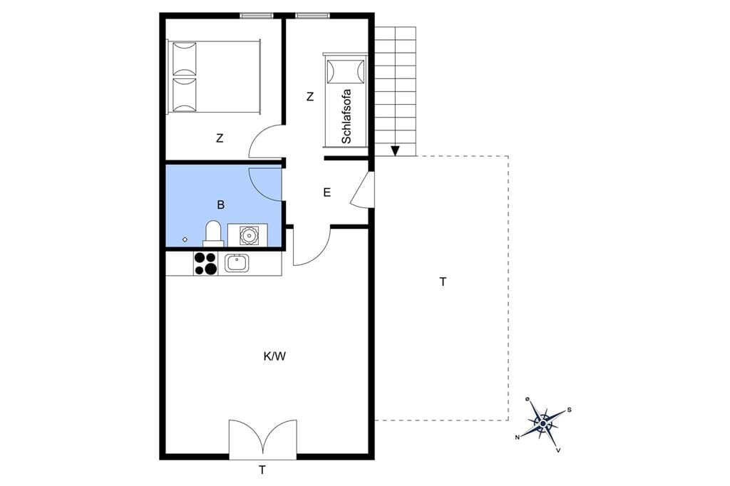 Innenausstattung 1-11 Ferienhaus 0356, Vestergade 159, DK - 6792 Rømø