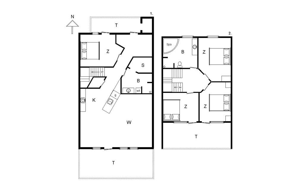 Interieur 1-14 Vakantiehuis 898, Laksen 21, DK - 9480 Løkken