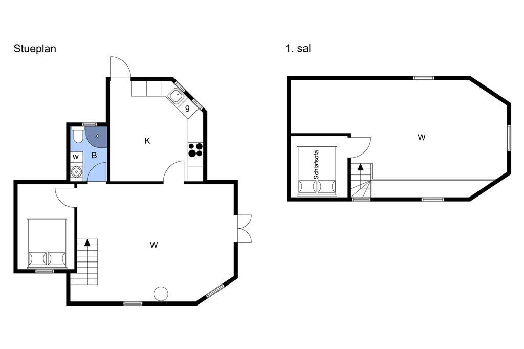 Indretning 1-3 Sommerhus M65271, Stævnevej 21, DK - 5631 Ebberup