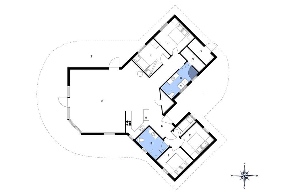 Interior 1-172 Holiday-home JB290, Møllebosletten 41, DK - 9690 Fjerritslev