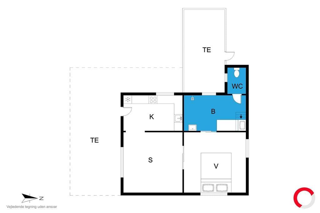 Innenausstattung 1-19 Ferienhaus 30182, Fjordvej 4, DK - 8340 Malling