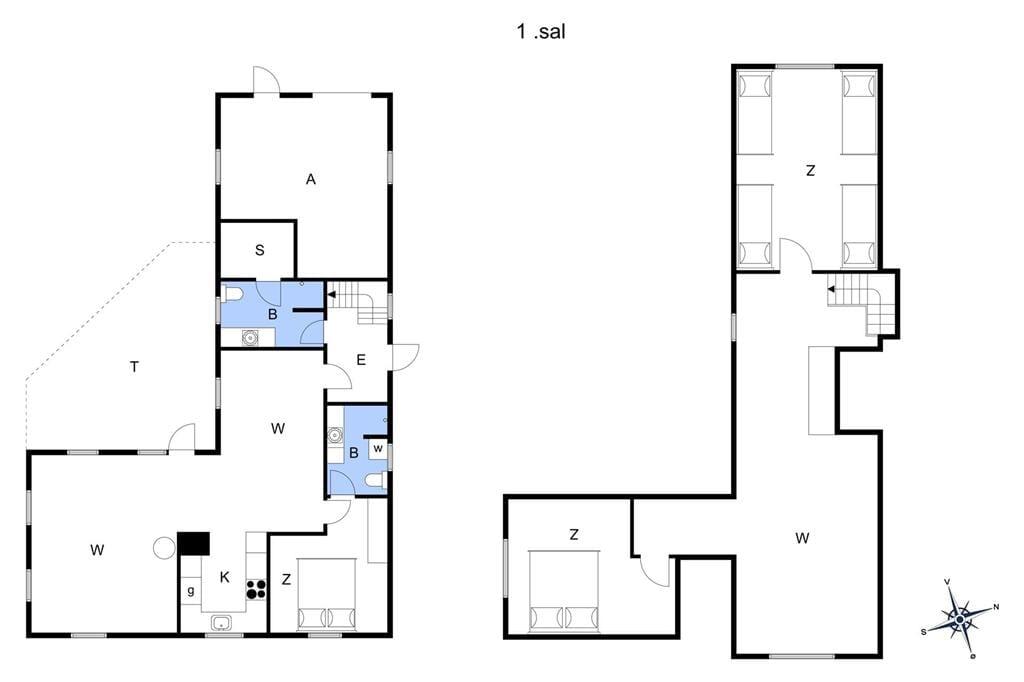 Interieur 1-175 Vakantiehuis 10024, Kjærgaardvej 151, DK - 6990 Ulfborg
