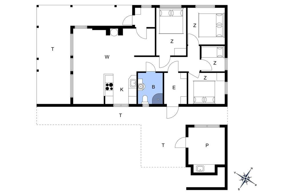 Interior 1-23 Holiday-home 8961, Granvej 19, DK - 8961 Allingåbro
