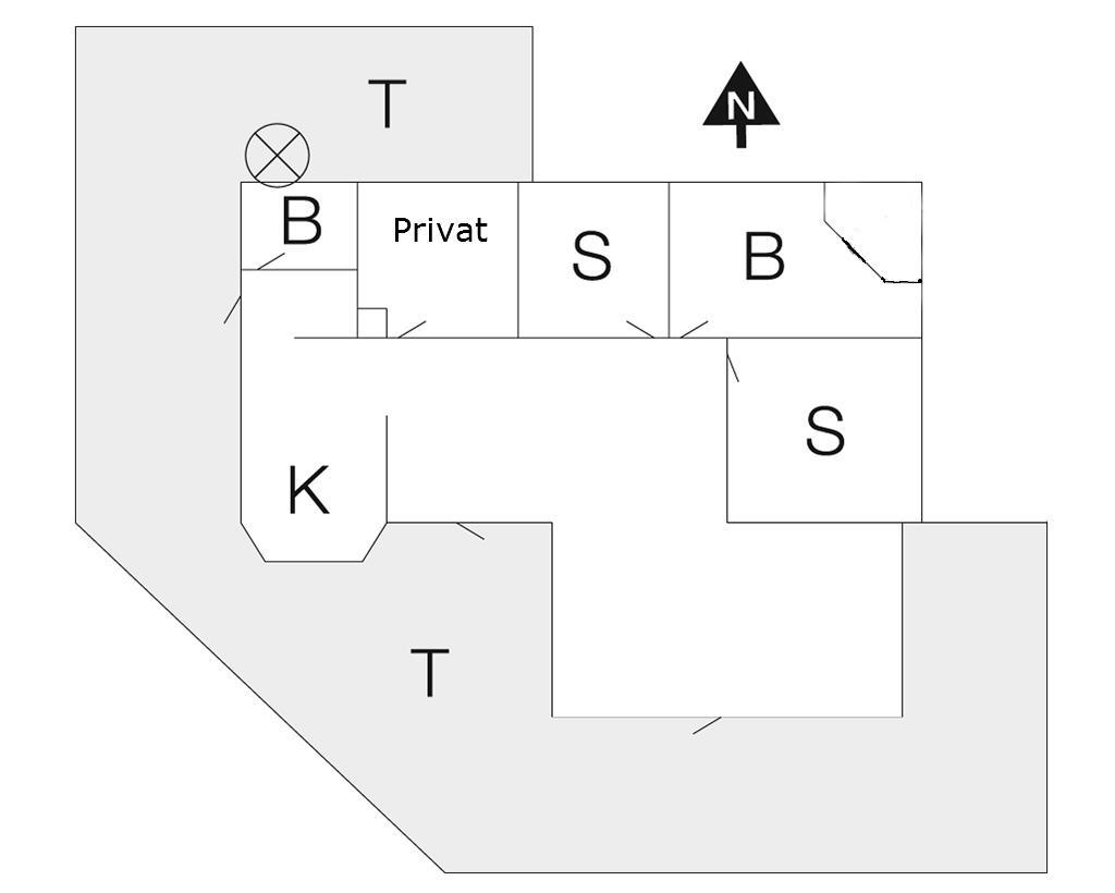 Indretning 1-10 Sommerhus 6640, Hyldeslet 1, DK - 3770 Allinge