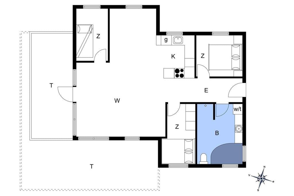 Indretning 1-14 Sommerhus 890, Soltoften 32, DK - 9480 Løkken