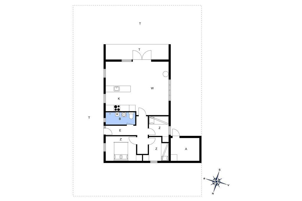 Innenausstattung 1-13 Ferienhaus 525, Spovevej 5, DK - 7770 Vestervig