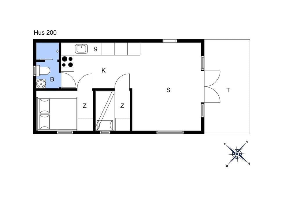 Innenausstattung 1-17 Ferienhaus 13401, Tinghulevej 14 hus 201 0, DK - 4573 Højby