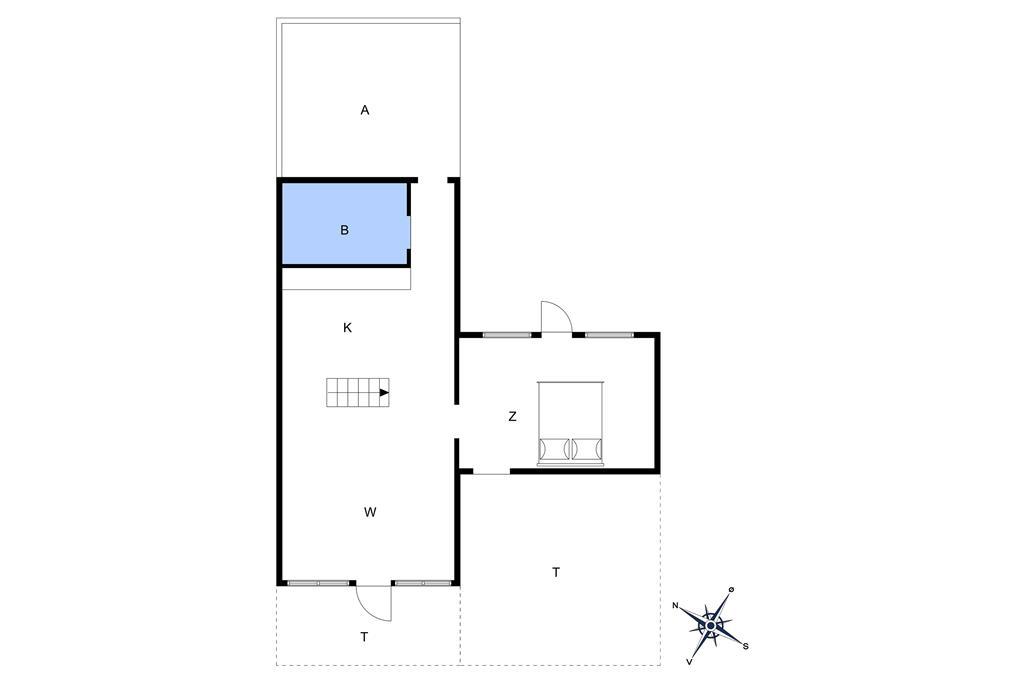 Innenausstattung 1-10 Ferienhaus 3647, Frederiksvej 8, DK - 3730 Nexø