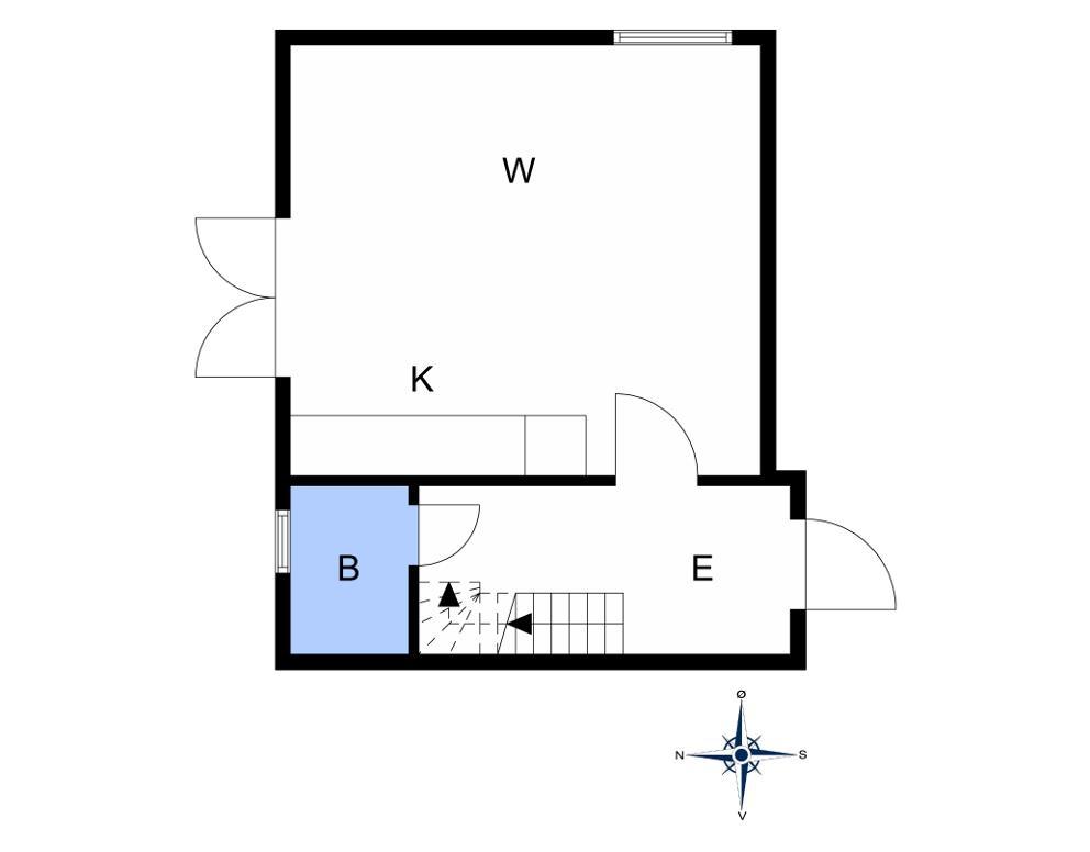 Indretning 1-10 Sommerhus 5524, Tuevej 7, DK - 3740 Svaneke
