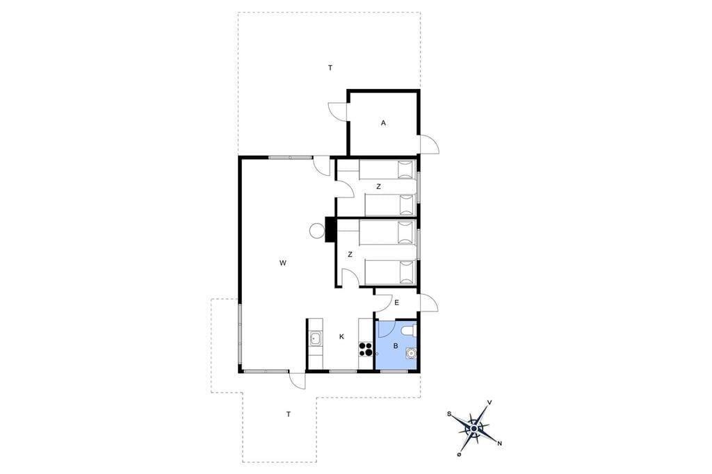 Indretning 1-3 Sommerhus F503781, Lønholt 107, DK - 6200 Aabenraa