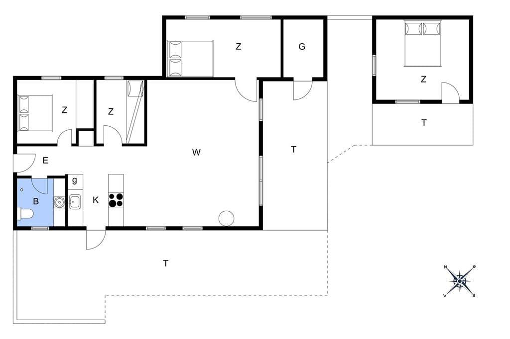 Interior 1-172 Holiday-home JB144, Horsbakkevej 7, DK - 7741 Frøstrup