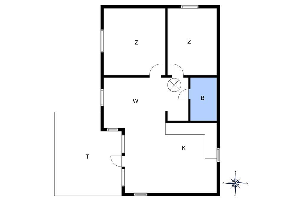 Indretning 1-10 Sommerhus 6611, Madseløkke 5, DK - 3770 Allinge