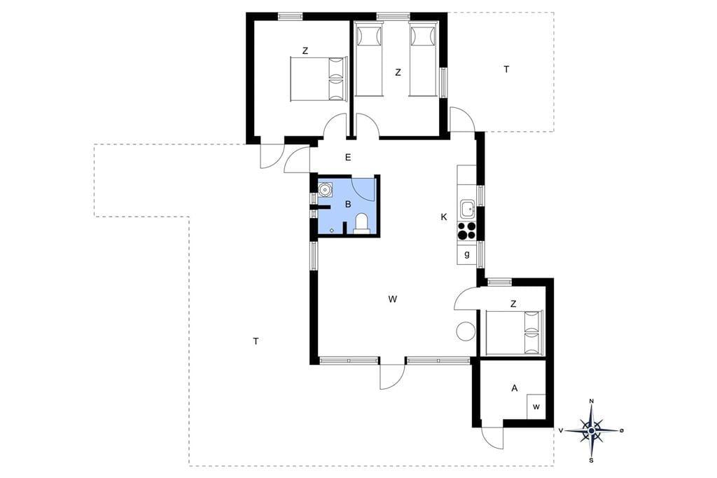 Indretning 1-10 Sommerhus 1502, Malurtvej 7, DK - 3720 Aakirkeby