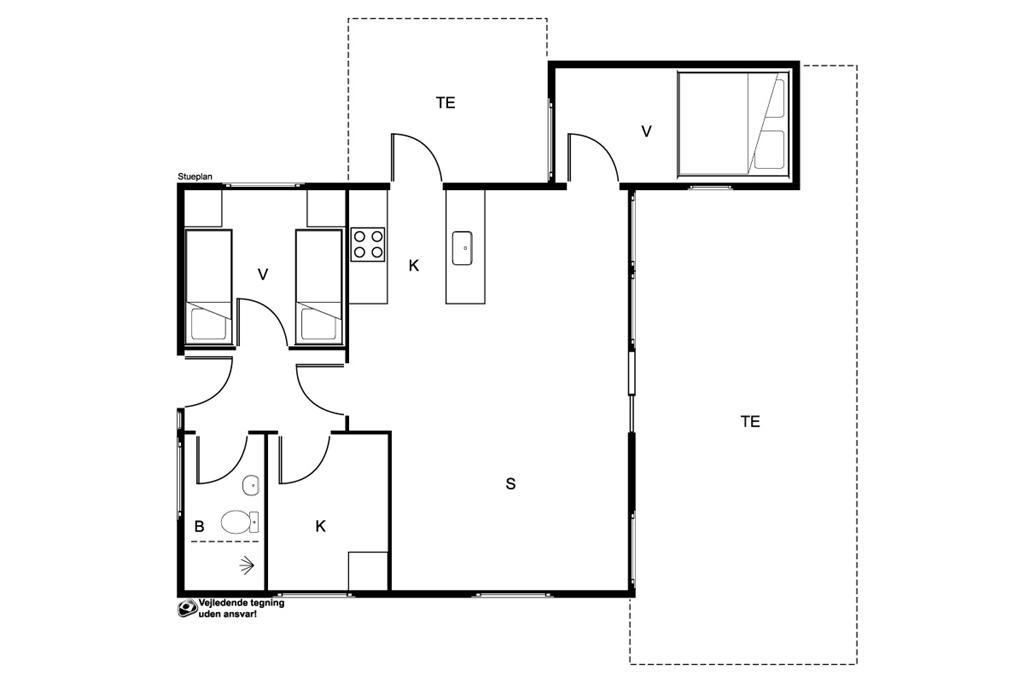 Interieur 1-19 Vakantiehuis 30718, Alrøvej 145, DK - 8300 Odder