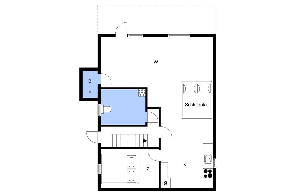 Innenausstattung 1-3 Ferienhaus L15226, Jelsevej 255, DK - 7840 Højslev