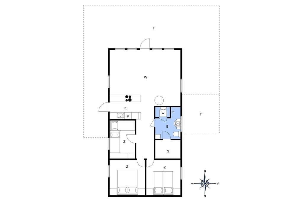 Innenausstattung 1-10 Ferienhaus 2620, Kolonivejen 9, DK - 3730 Nexø