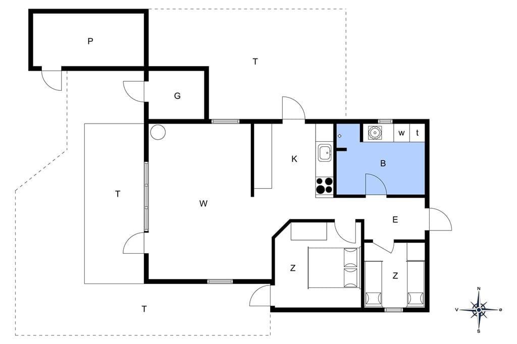 Interieur 1-172 Vakantiehuis JB139, Kastanjevej 13, DK - 9690 Fjerritslev