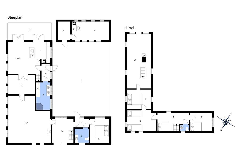 Innredning 1-172 Feirehus JB661, Stagstedvej 6, DK - 9460 Brovst