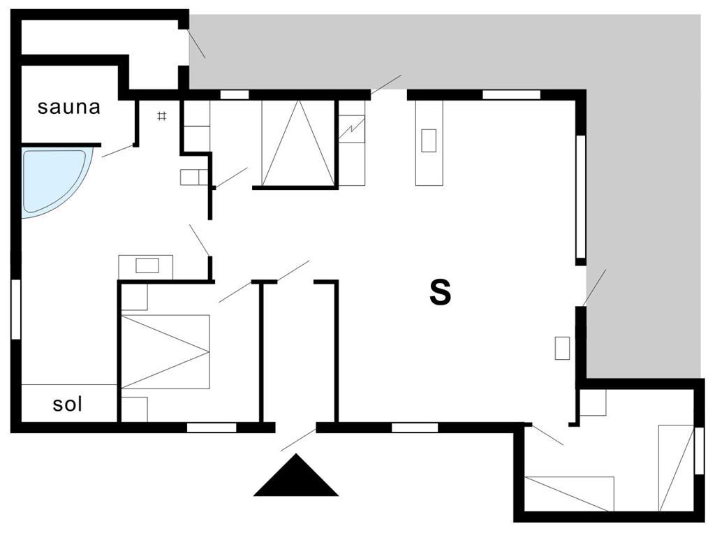 Innenausstattung 1-175 Ferienhaus 40703, Helmklit 227, DK - 6990 Ulfborg