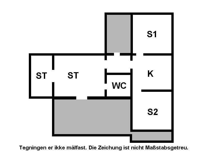 Indretning 1-15 Sommerhus 3032, Ankeret 4, DK - 4780 Stege