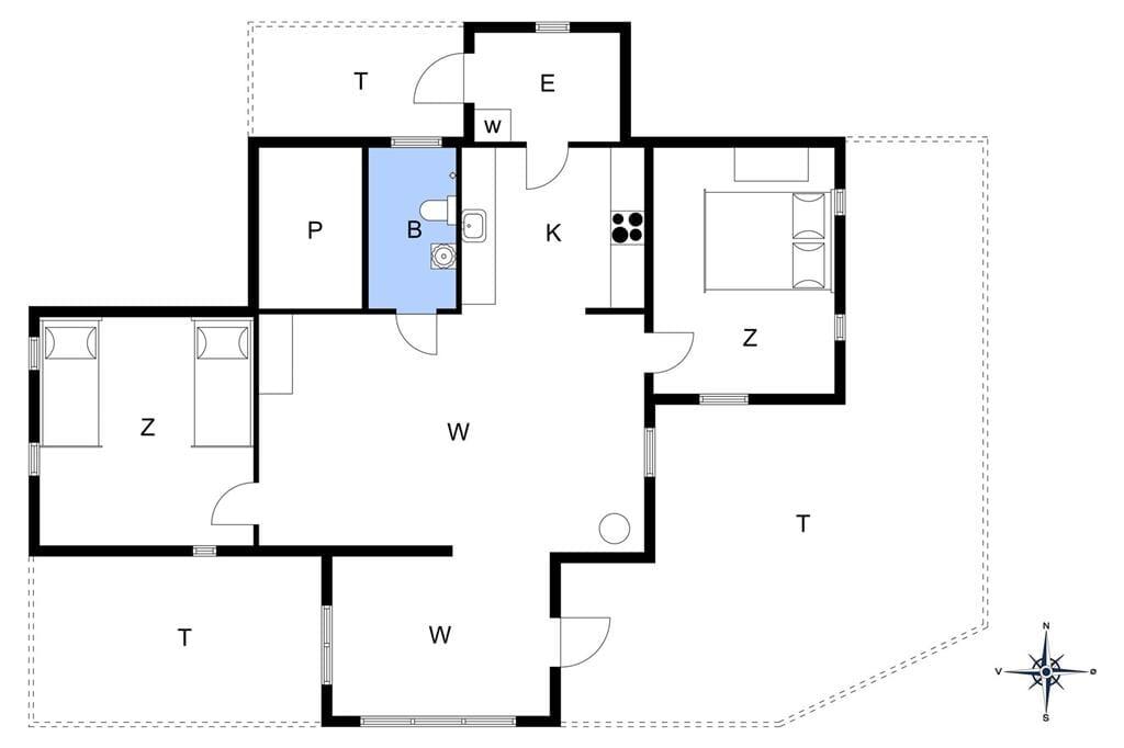 Indretning 1-13 Sommerhus 501, Vesterhavsgade 65, DK - 7700 Thisted
