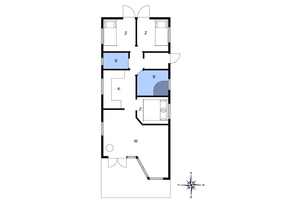 Interior 1-10 Holiday-home 3632, Hedevej 12, DK - 3730 Nexø