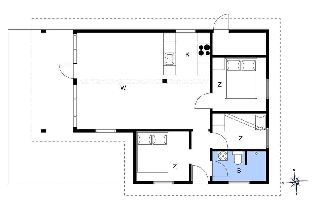 Interior 1-14 Holiday-home 1558, Opossumvej 20, DK - 9493 Saltum